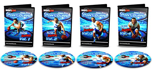 HoopsKing Point Guard Elite Training Basketball 4 DVD Pack