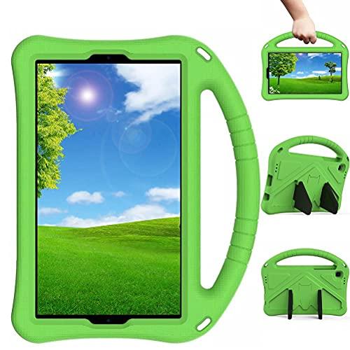 Lfdygcd Schutzh¨¹lle f¨¹r Samsung Galaxy Tab A7 Lite 8.7, STO?fest, mit Handgriff & St?nder, f¨¹r SM-T220 / T225, Gr¨¹n