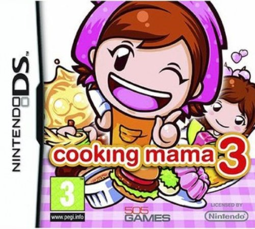 Cooking Mama 3 [Nintendo DS] [Importado de Francia]