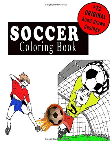 soccer coloring book: football colouring and activity book for Men and Women for kids