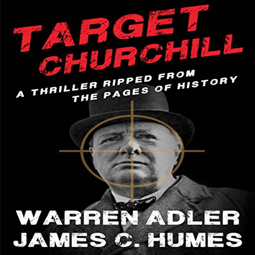 Target Churchill audiobook cover art