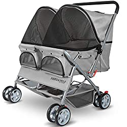 Paws & Pals Double Dog Stroller