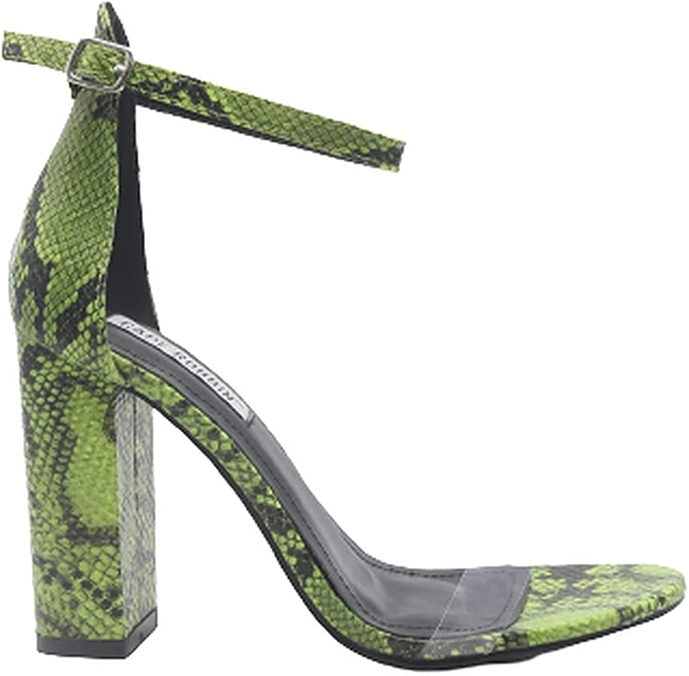 Cape Robbin Gills Open Toe Ankle Strap Chunky Heel Sandals