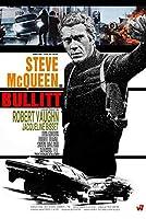 映画ポスター ブリット Bullitt スティーブマックイーン 24×36inc (61×91.5cm) US版 of1 [並行輸入品]