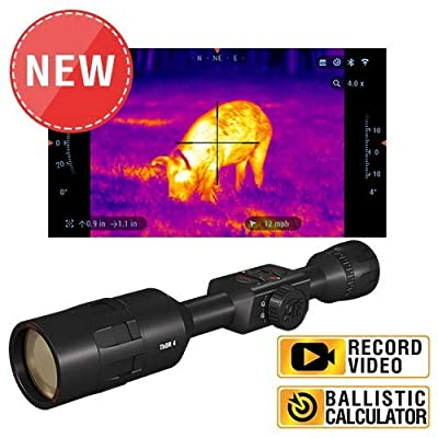 theOpticGuru ATN Thor 4 640x480, 1.5-15x Thermal Scope w/Video rec in HD, Smooth Zoom, Bluetooth and Wi-Fi (Streaming, Gallery & Controls)