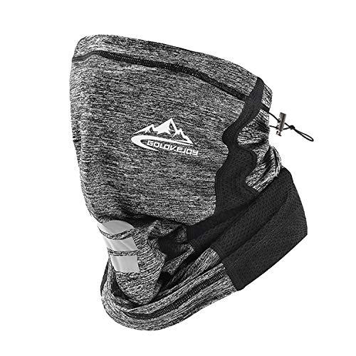 ネックガード UVカット バンダナ 男女兼用 紫外線対策 吸汗速乾 冷感 日よけ サイクリング 夏