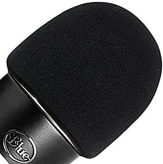 ienza Windscreen for Blue Yeti Foam - Also Fits Other Large Microphones Such as MXL, Audio Technica and More - Quality Spo...
