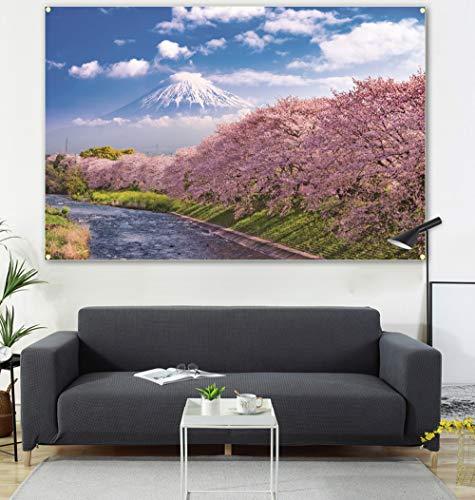 nothing Der See & der Schneeberg sind mit Gemälden & Flaggen verziert. Das Wohnzimmer ist mit 600d4-Knöpfen von 100 x 150 cm verziert.