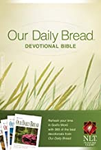 Our Daily Bread Devotional Bible NLT (Hardcover)