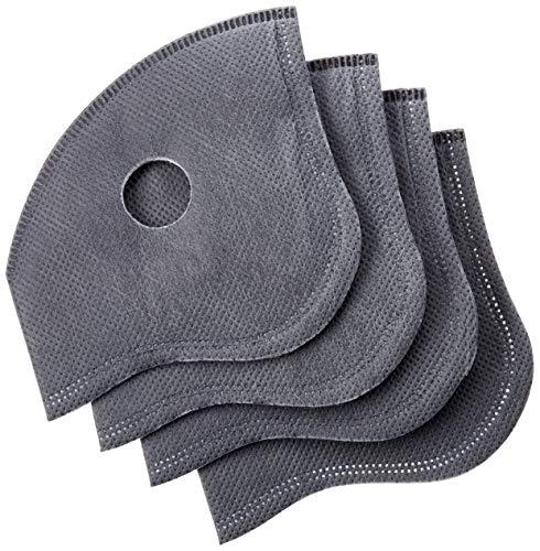 fancyGuard Aktivkohle-Filter für Mundschutz, Gesichtsmaske/austauschbar/one size / 4 Stück pro Packung