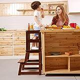 UNICOO - Taburete de Aprendizaje para niños, Taburete de Cocina, Taburete para...