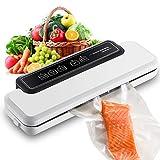 Galapara Vakuumierer, Vakuumiergerät Compact Food Sealer Automatisches Lebensmittelspargerät...