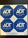 Authentic ADT Security Window Sticker Decal