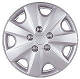 Drive Accessories KT-957-14S/L, Honda Accord, 14' Silver Lacquer Replica Wheel Cover, (Set of 4)