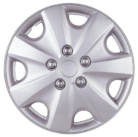 Drive Accessories KT-957-15S/L, Honda Accord, 15' Silver Lacquer Replica Wheel Cover, (Set of 4)