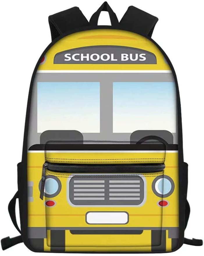 FOR U DESIGNS Children School New Free Shipping favorite Backpack Bus Big Pattern Ca