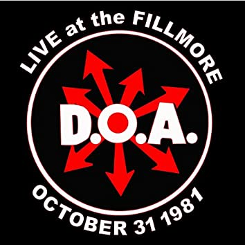 Live at the Fillmore 1981