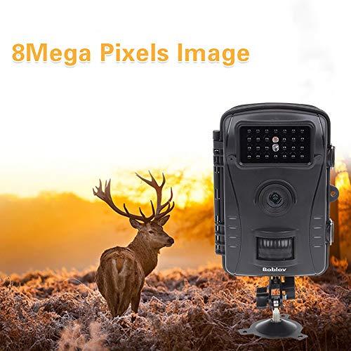 SPRIS Wildlife Trail-Kamera-1080P, IP 66 wasserdicht 0.3s Trigger-Außenschutz-Tracking-Tier-Infrarot-Nachtsicht-Funktion Sicherheits-Überwachungskamera