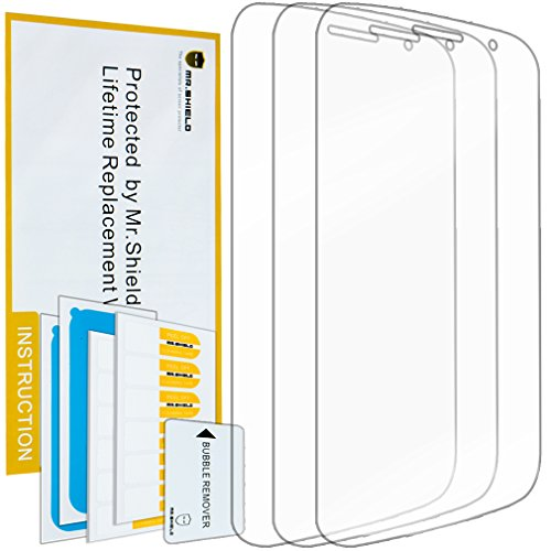 Mr.Shield for Alcatel OneTouch POP Icon Premium Clear Screen Protector [3-Pack] with Lifetime Replacement