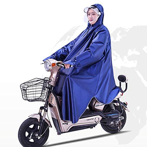 SHUHANX - Poncho impermeabile impermeabile impermeabile con batteria per auto, adulto, uomo e donna, per aumentare la...