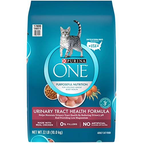 Price comparison product image Purina ONE Urinary Tract Health Dry Cat Food,  Urinary Tract Health Formula - 22 lb. Bag