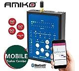 Medidor de Campo Amiko Mobile Tracker BT Combo (DVB-S2 / DVB-T2 / DVB-C / ATV)