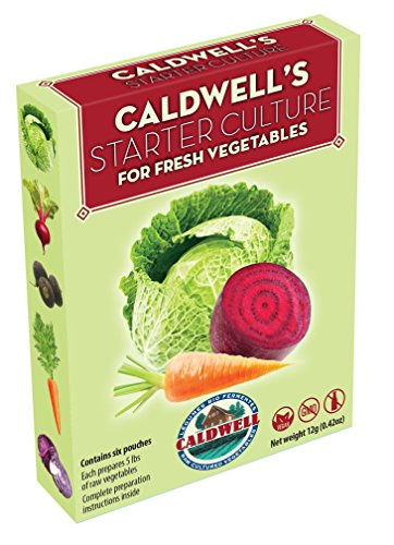 Caldwell's Starter Culture for Fresh Vegetables (optional)