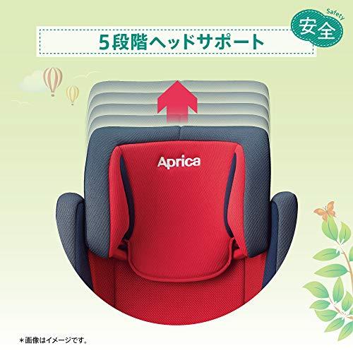 Aprica(アップリカ)シートベルト固定ジュニアシート3歳頃からエアライドACAirRideACAC(レーシングレッド)3歳~(1年保証)2107943