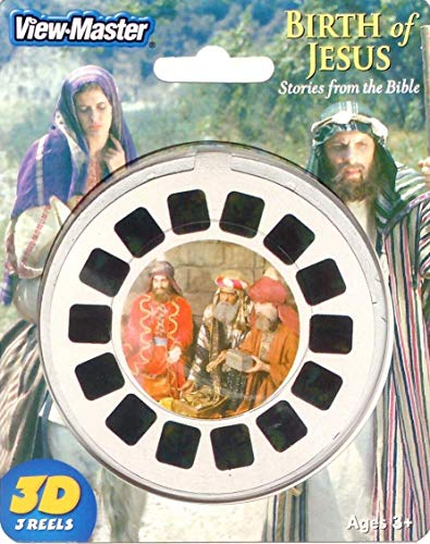 Birth of Jesus - Stories from the Bible - ViewMaster 3 Reel Set in 3D by View-Master
