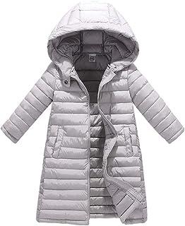 HAPPYJP 中綿コート 子供服 ロングコート 防寒 冬 女の子 男の子 軽量 中綿ジャケット キッズ