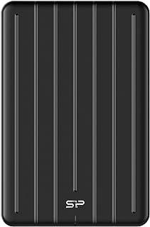 シリコンパワー 外付けSSD 512GB USB3.1 Gen1 Type-C 耐衝撃 PS4動作確認済 3年保証 B75 SP512GBPSDB75SCKJA