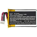 Synergy Digital GPS Battery, Works with DeLorme inReach SE GPS, (Li-Pol, 3.7V, 2000mAh) Ultra High Capacity, Compatible with DeLorme MYT783968 Battery
