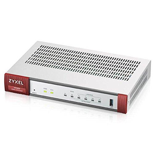 Zyxel ZyWALL 800 Mbit/s, bis zu 50 Benutzer, VPN Firewall/SD-WAN, ein 1-jähriges SD-WAN-Lizenz-Pack inklusive [VPN50]