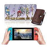 Lote de 25 tarjetas NFC para Amiibo Zelda & Loftwing para The Legend of Zelda: Skyward Sword [versión más reciente] Compatible con Switch/Lite Wii U