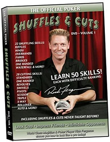 Shuffles & Cuts - Volume 1 by Rich Ferguson by Official Poker Inc. - Rich Ferg