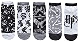 Hyp Harry Potter Designs Juniors/Womens 5 Pack Ankle...