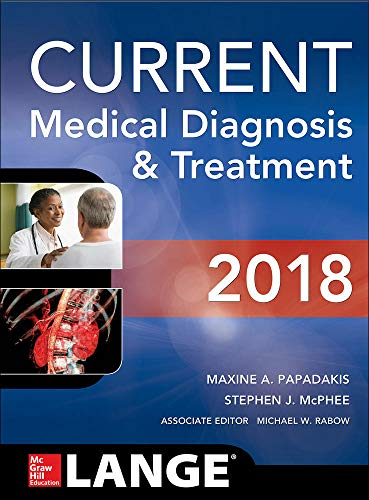 CURRENT Medical Diagnosis and Treatment 2018, 57th Edition