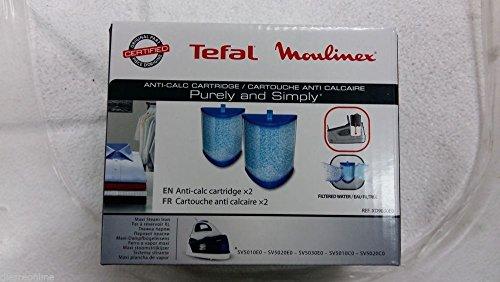 Tefal Moulinex - Filtro de agua antical para plancha SV5010, SV5020, SV5030, repuesto original XD9030E0