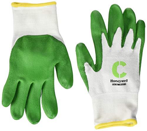 Honeywell Check and Go Green PU 5 Handschuhe weiß/grün Größe 9 (10 Stück)