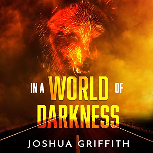 In a World of Darkness audiobook cover art