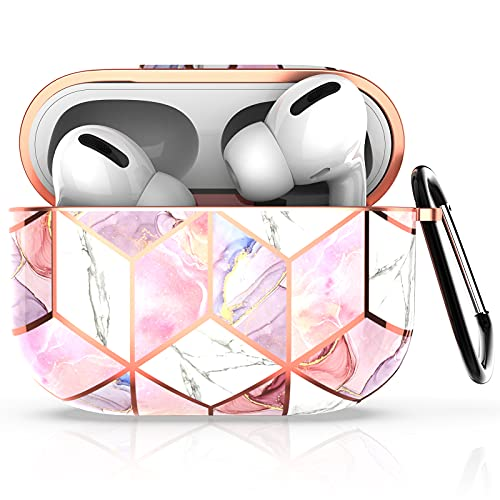 Hasaky Case for AirPods Pro Case Cover, Girls/Woman/Men/Boys Portable ( with Keychain ) Cute Rose...