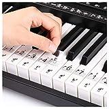 Pegatinas Para Piano Teclado, Pegatinas para Notas Musicale, Etiqueta Engomada de Tecla del Piano, P...