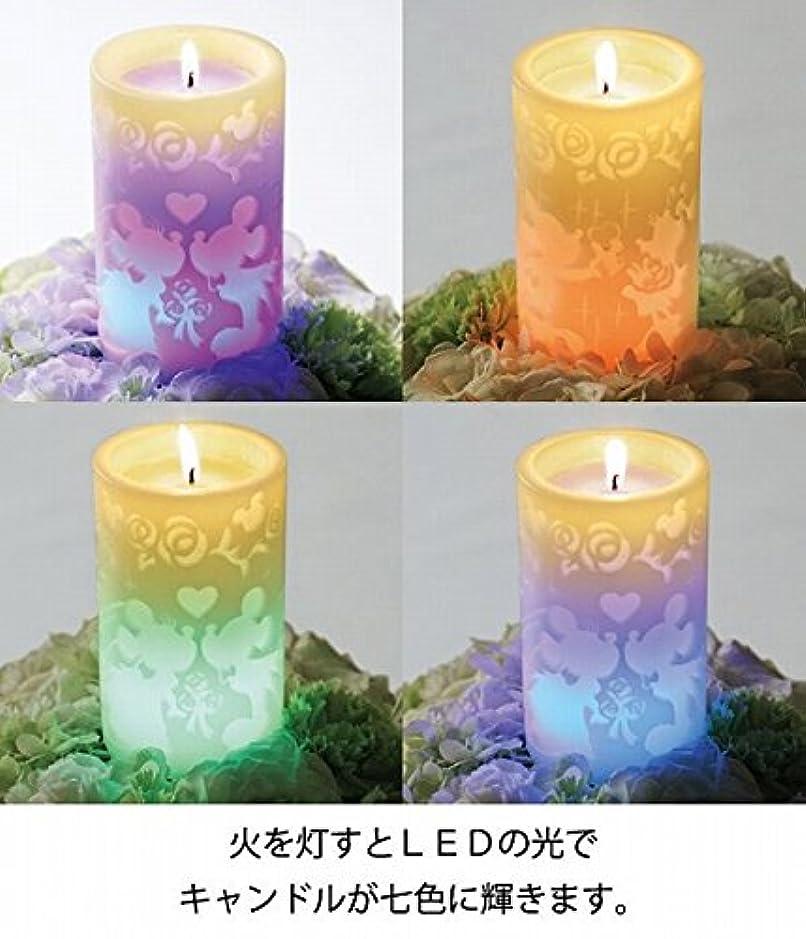 わずかなナチュラ強大なkameyama candle(カメヤマキャンドル) ミッキー&ミニーLEDピラー(A4970000)