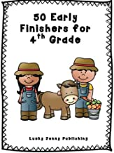 50 Early Finishers for 4th Grade