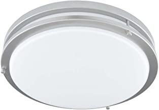 Good Earth Lighting Jordan 11-inch LED Flush Mount Light - Brushed Nickel