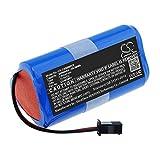 TECHTEK batería sustituye CONG0001 Compatible con [CECOTEC]...