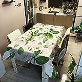 Mantel Estampado De Poliéster Floral Mantel Impermeable A Prueba De Aceite Y Resistente A La Suciedad Inicio Hotel Mesa De Comedor Mesa De Centro Escritorio Y Mantel
