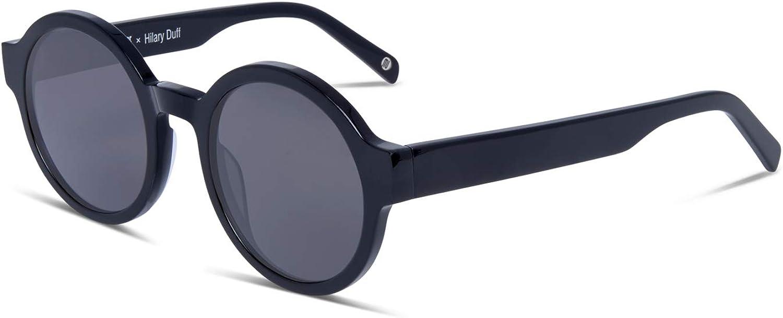 Hilary Duff Muse Anna Round Women Designer Sunglasses UV Predection Nonpolarized