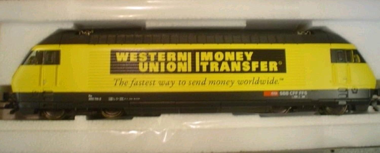 Roco 63514 Elektrolok Re 460 SBB Western Union B000KSO1QG Räumungsverkauf  | Leicht zu reinigende Oberfläche