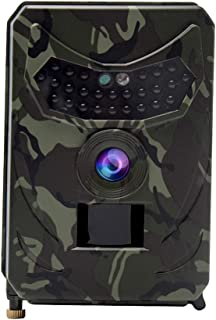 Trail Camera,Waterproof HD Wildlife Camera USB HD Night Vision Motion Activated Outdoor Wildlife Cam with 120° Wide Angle ...